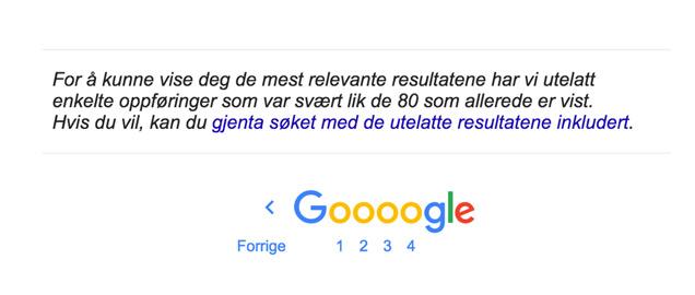 Duplikatinnhold: Nettbutikk med duplisert innhold har trøbbel med Google-rangering